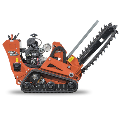 Ditch Witch CX24 Walk Behind Trencher Rental style=