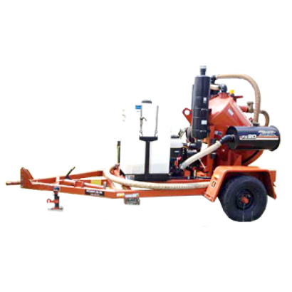 Ditch Witch Fx20 Trailer Vacuum Excavator Rental